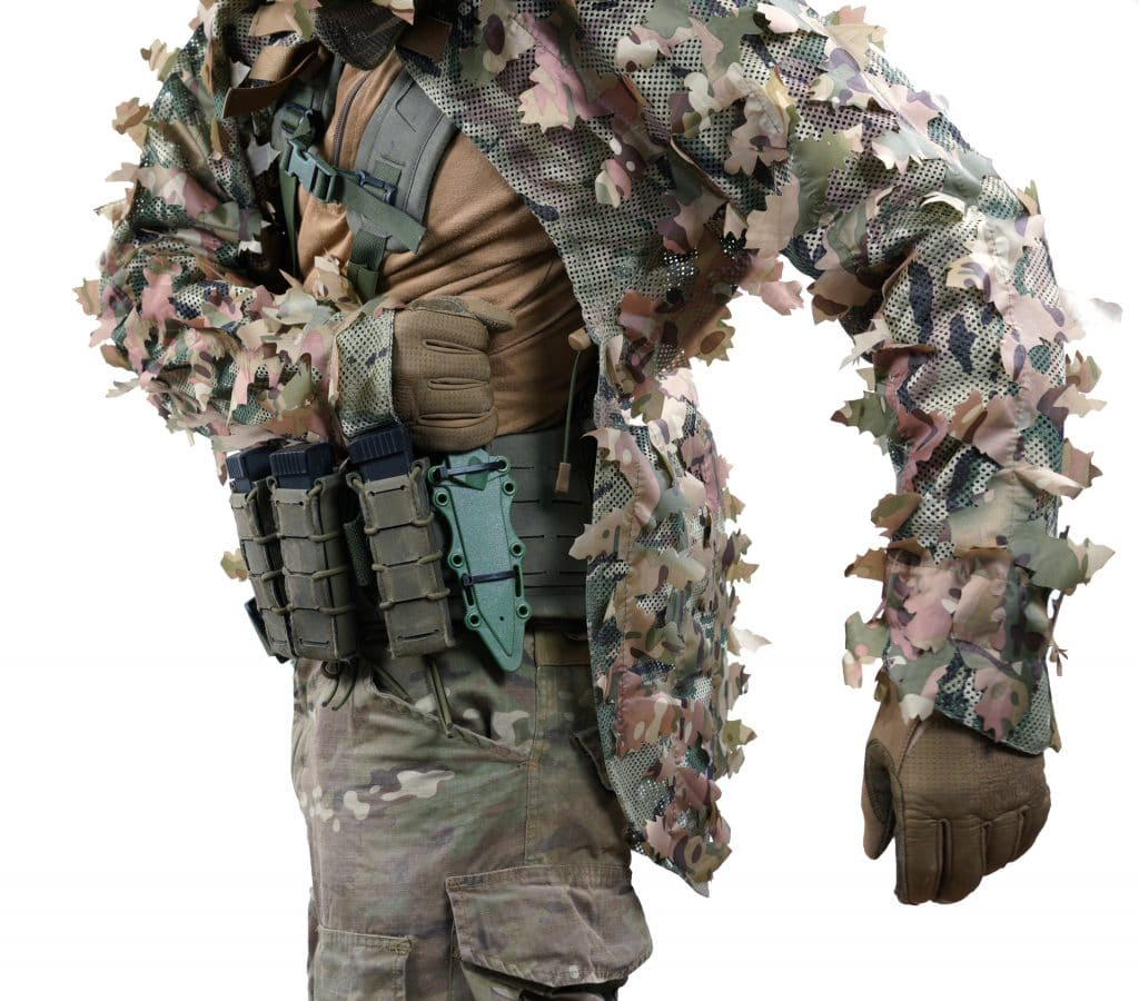 7603e534f3898 The Novritsch 3D Ghillie does not need any further amendments. Just put it  over your gear